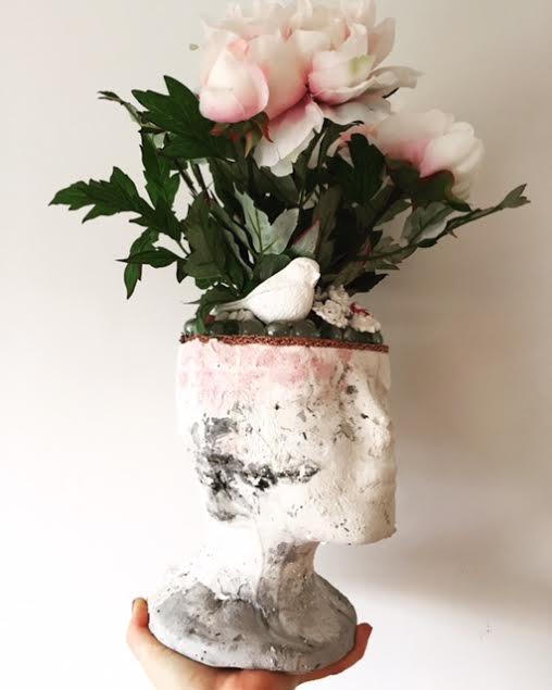Contemporary Life Sized Clarissa Vase