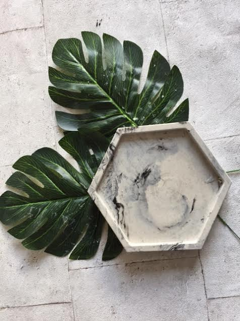 Hex Platter Dish
