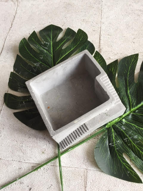 Architectural Industrial Planter / dish