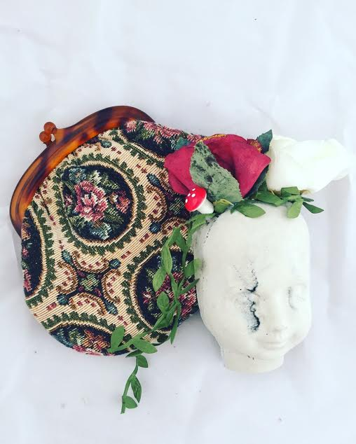 Eclectic Dolls Head Vase